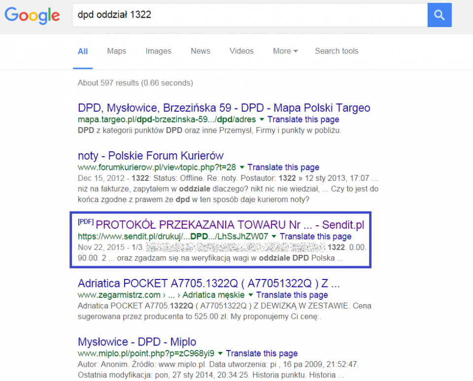 Google-DPD